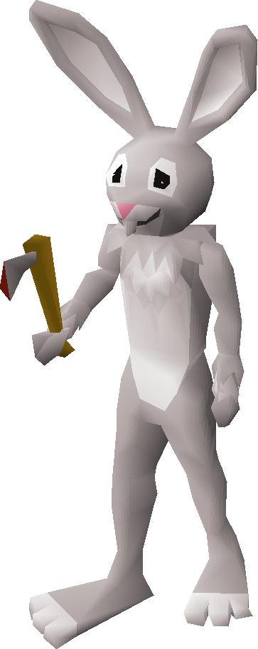Image result for bunny man