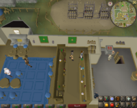 Cryptic clue - speak bartender blue moon inn varrock