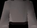 Grey robe top detail