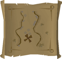 Map clue Al Kharid mines