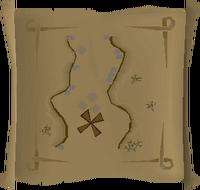 Map clue Al Kharid mines