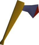 Mithril axe detail