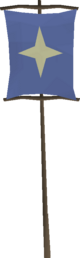 Saradomin banner detail