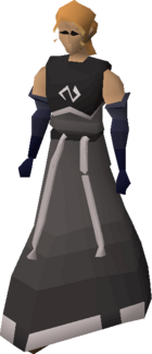 Void knight robes (female) equipped