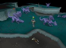 Fighting mithril dragons