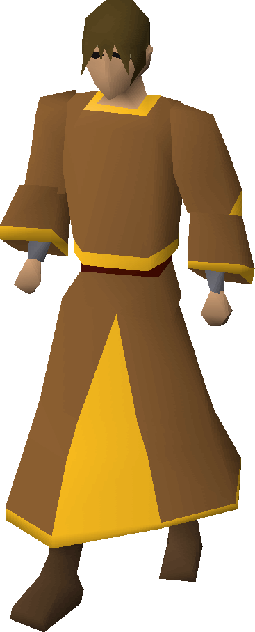 gold trimmed monk s robes old school runescape wiki fandom