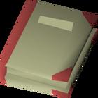 Alchemical notes detail