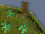 Emote clue - salute banana plantation