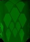 Green d'hide body detail