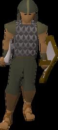 Guard (Desert Mining Camp) (iron helm)