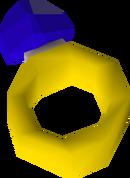 Sapphire ring detail