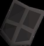 Black kiteshield (t) detail