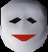 Mime mask detail