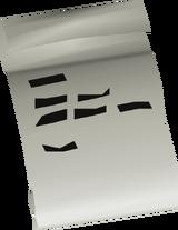 Unstamped letter detail