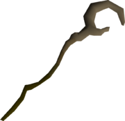 Bryophyta's staff (uncharged) detail
