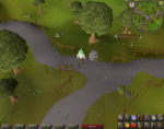 Emote clue - spin rimmington crossroads