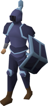 Mithril trimmed set (lg) equipped