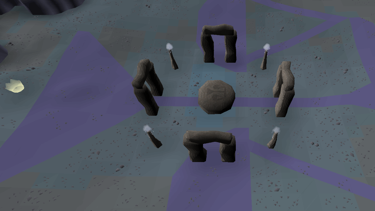 Crafting law runes through the Abyss | Old School RuneScape Wiki