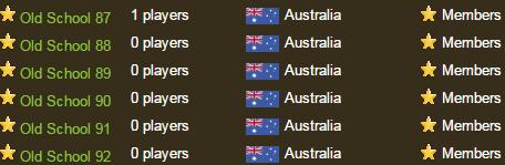 Australian Servers Now Live (1)