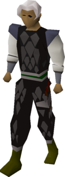 Black d'hide (t) set equipped
