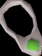 Jade necklace detail