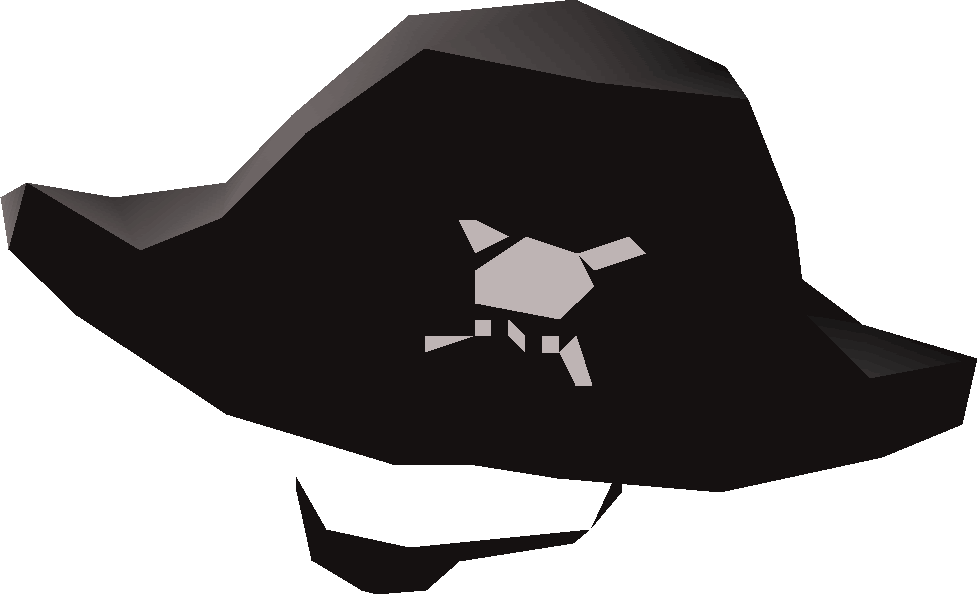 5bd12882093 The pirate hat   patch is acquired by taking both a Big pirate hat and an  eyepatch to Patchy on Mos Le Harmless. Doing so requires the completion of  Cabin ...