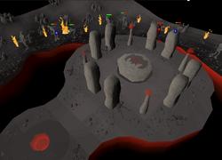 Wrath altar inside