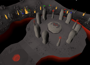 Wrath altar inside