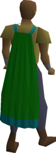 Guthix cape equipped