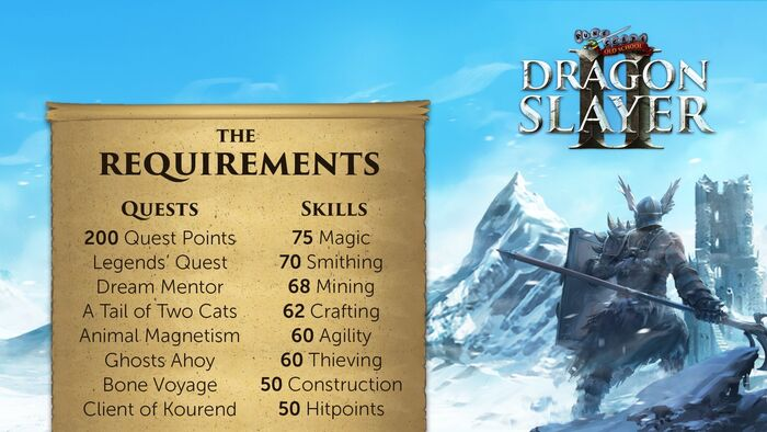 Dragon Slayer II reqs, QoL and a look at the coming weeks! (2)