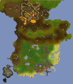 Feldip Hills map