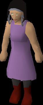 Purple Pewter Secretary