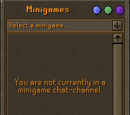 Minigame Group Finder