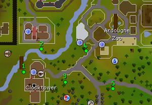 Hazeel Cult map