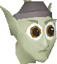 Guard (Cave goblin with bone spear) chathead