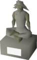 Large statue (Guthix) built.png