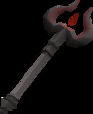 Thammaron's sceptre (u) detail