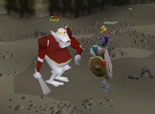 The Fremennik Isles boss fight