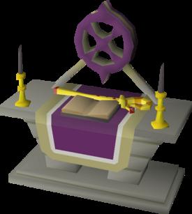 Ancient altar built