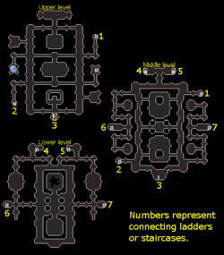 Shayzien Crypts map