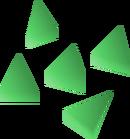 Emerald bolt tips detail