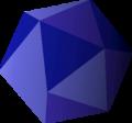 Icosahedron detail