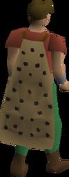 Spottier cape equipped
