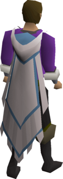 Mythical cape equipped