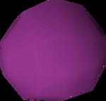 Stone ball (purple) detail
