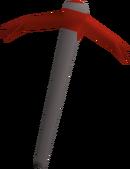Dragon pickaxe detail