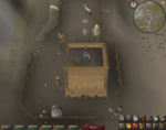 Emote clue - laugh jokul's tent mountain camp