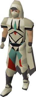 Graceful outfit equipped