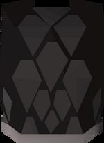 Black d'hide body (t) detail