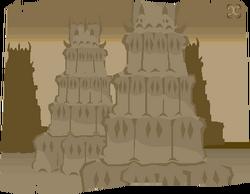 Looking-at castle sketch 2